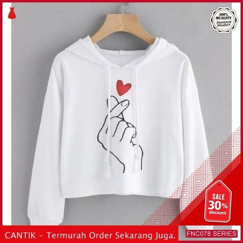 FNC078H20 Hoodie Love In The Wanita Air Babyterry 40 Ribuan