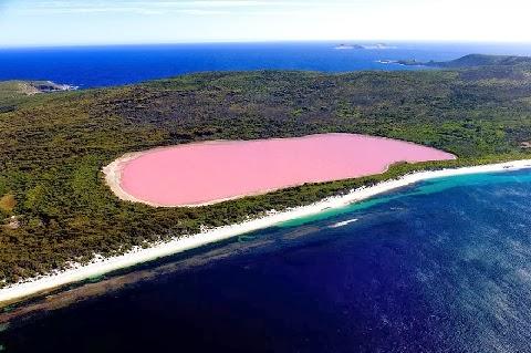Hillier tó, Ausztrália