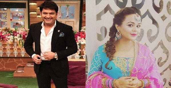 Kapil Sharma With Ginni, Twitter Handle With Kapil Sharma