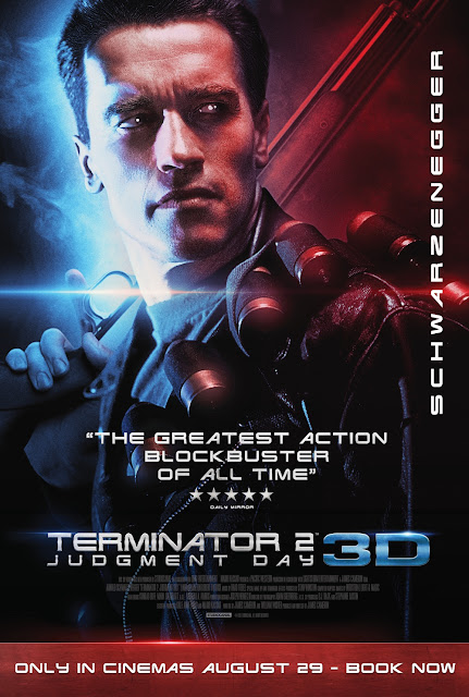 Terminator 2: Judgment Day 3D UK 1 Sheet Poster 29 August