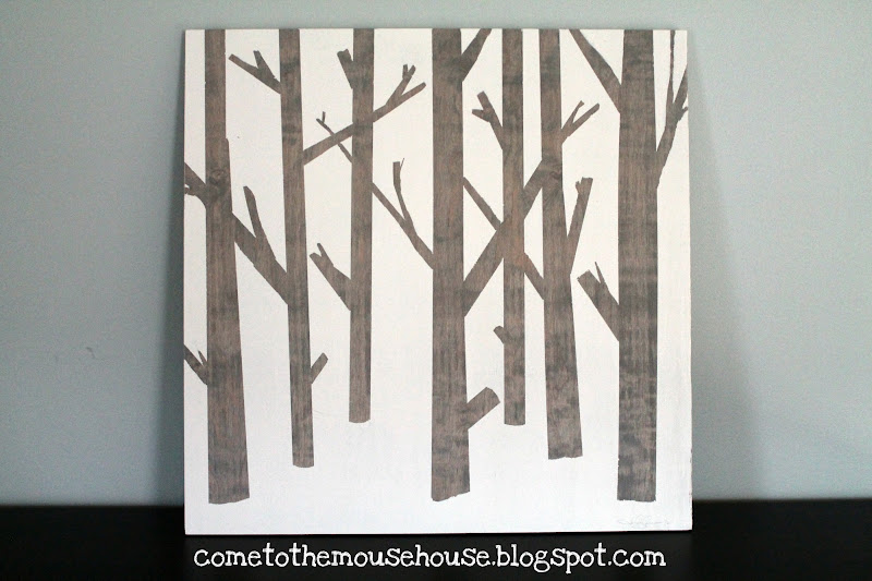 How To Make Easy Wooden Tree Art
