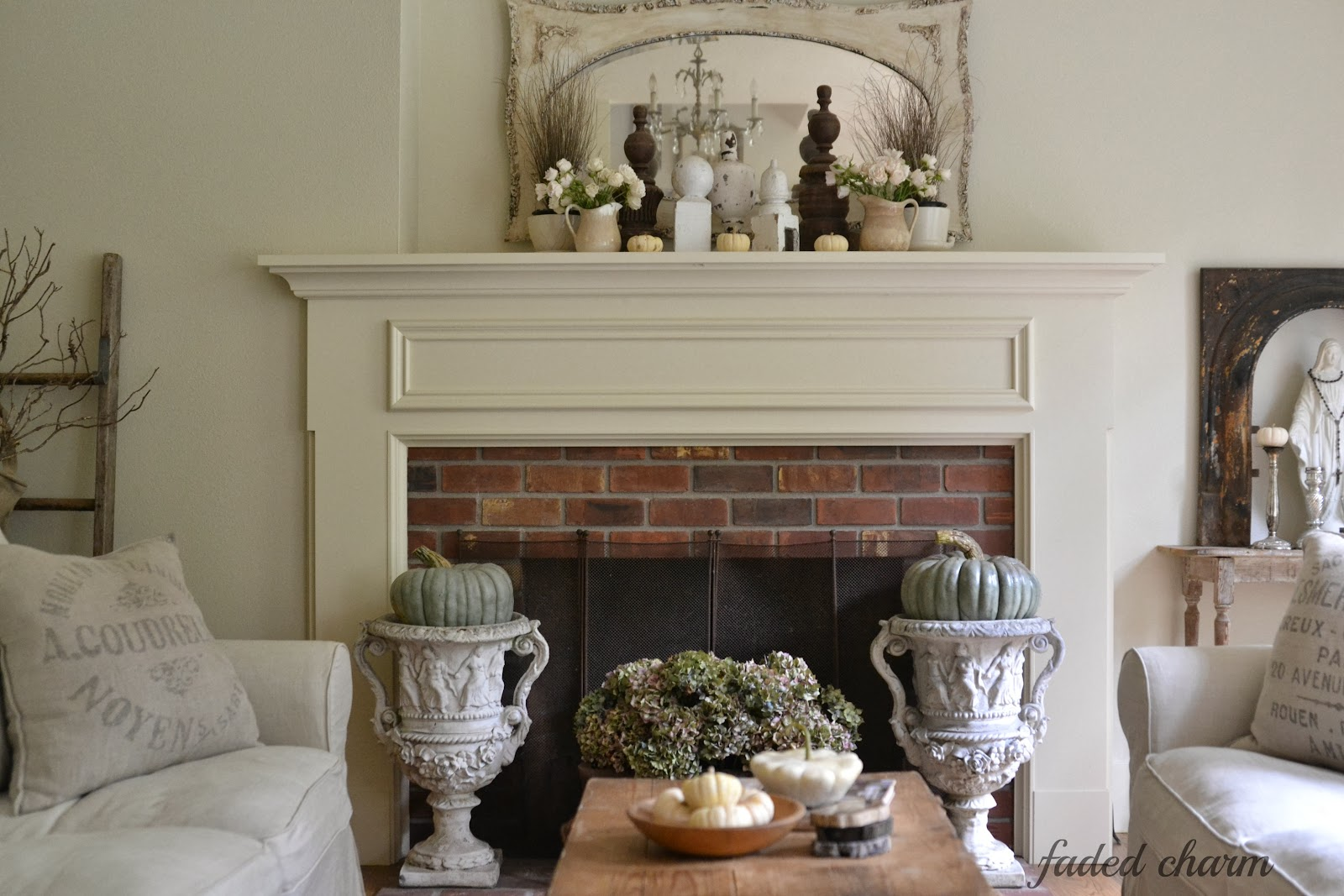 Are Sofas And Stuff Any Good Faded Charm: ~fall Mantel~