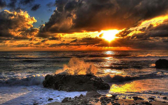 Papel de Parede da Natureza Praia Dourada