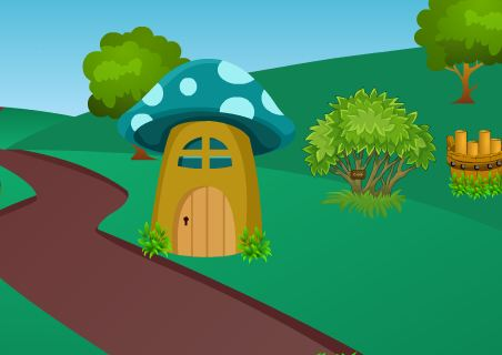 TheEscapeGames Mushroom House Treasure Escape