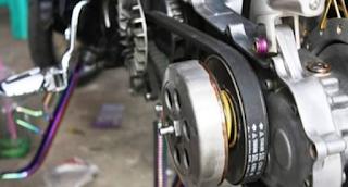 Mengatasi V-Belt Motor Matic Agar Tidak Cepat Putus