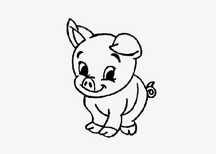 Baby piglet coloring pages ~ Baby pig coloring pages | Free Coloring Pages and Coloring ...