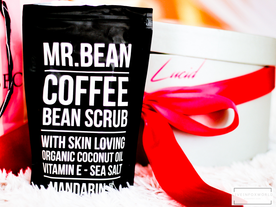 mr bean coffee bean scrub