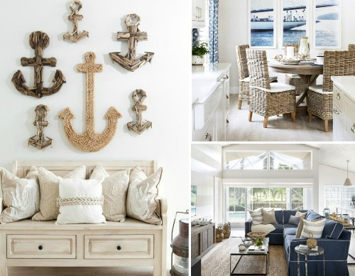 Natural Textures for a Nautical Home