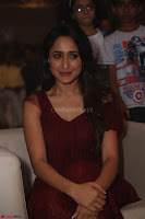 Pragya Jaiswal in Stunnign Deep neck Designer Maroon Dress at Nakshatram music launch ~ CelebesNext Celebrities Galleries 118.JPG