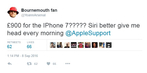 Here's what this guy said when he heard iPhone 7 was N480k
