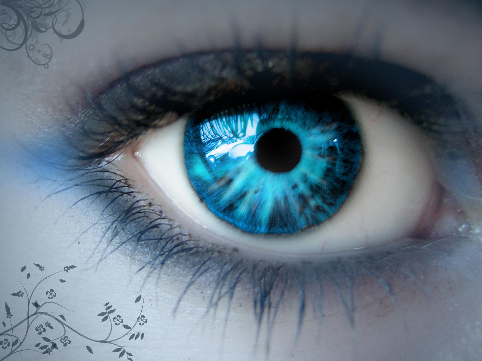 Light Blue Nerd Glasses