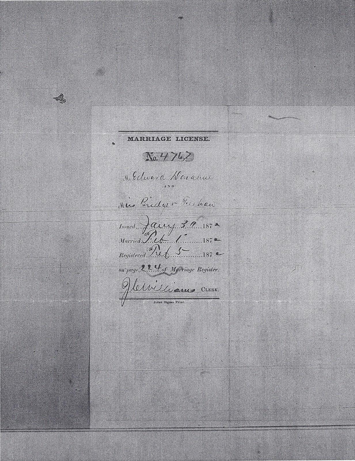 Joliet Genealogy Illinois Marriage Certificates