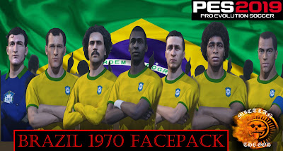PES 2019 Facepack Brazil 1970 by MictlanTheGod