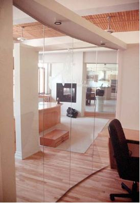FLOOR TO CEILING GLASS NY