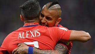 Video Gol Jerman vs Chile 1-1 Piala Konfederasi 2017