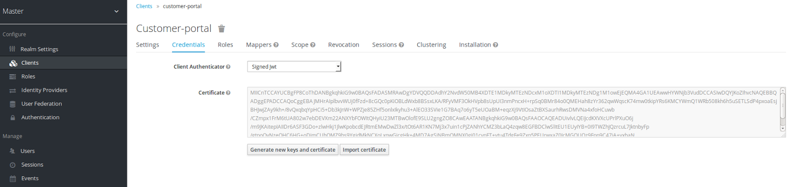 Authentication of clients with signed JWT | Planet JBoss Developer