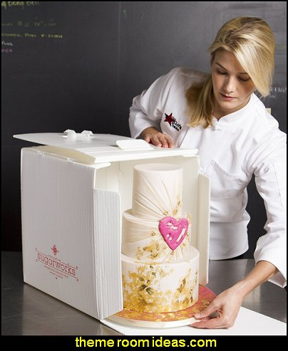 Innovative Sugarworks Small Cake Porter with Insulated Cover and Cake Carrier