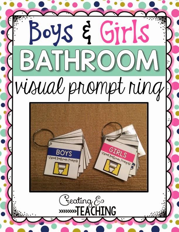 https://www.teacherspayteachers.com/Product/Bathroom-Visual-Prompt-Rings-1693825