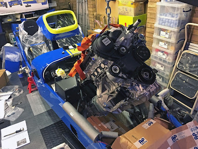 1.6l Ford Sigma engine and gearbox going into Caterham Academy car