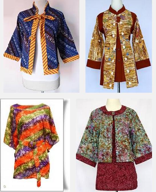 Model Baju Batik Untuk Orang Gemuk Kerja Kantor Muslim Kumpulan