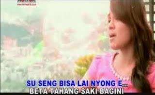 Lirik Lagu Ambon Cinta Manangis - Mitha Talahatu