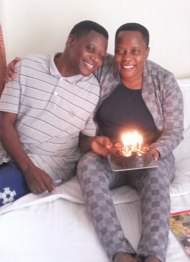 How Hon Nambooze celebrated her birth day in hospital