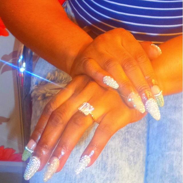 halima abubakar engagement ring