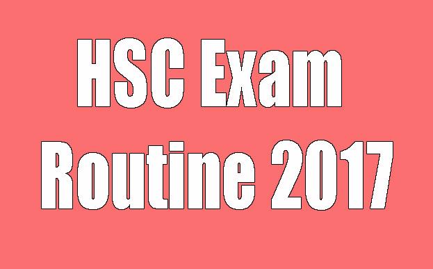 Exam Routine 2017