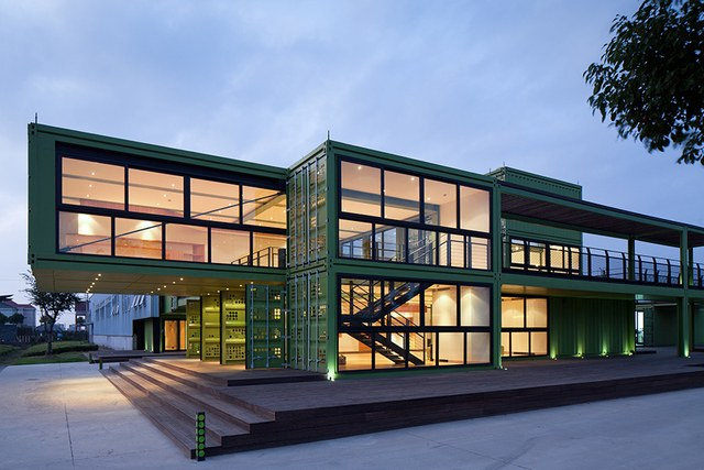 Shiping Container Luxurious House