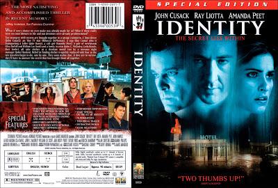 Filme Identidade (Identity) DVD Capa