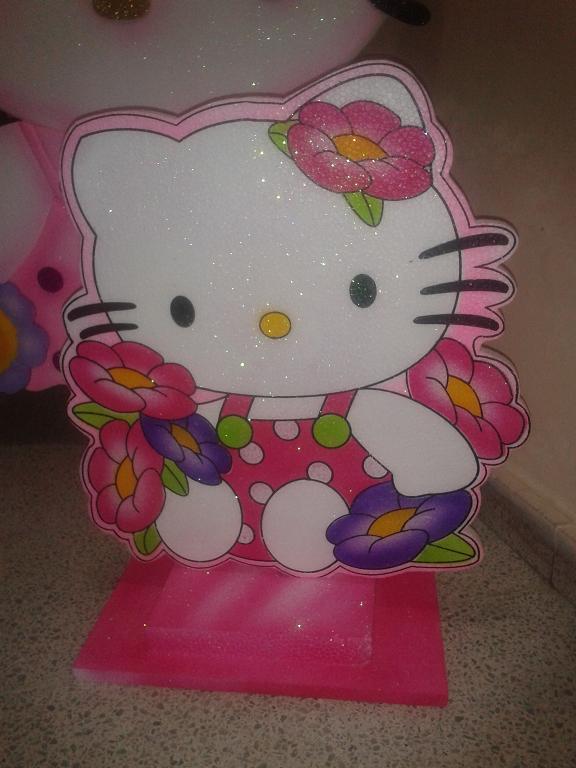 Figuras icopor hello kitty decoracion fiestas medellin - Decoracion hello kitty ...