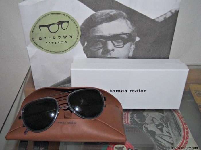 """רשת """"משקפיים בשינקין"""" משיקה את מותג המשקפיים תומאס מאייר Tomas Maier"""