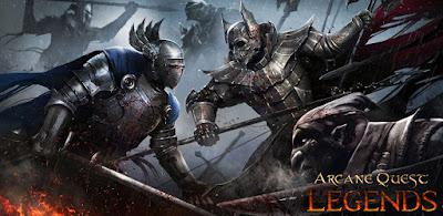 Arcane Quest Legends MOD APK + OBB for Android