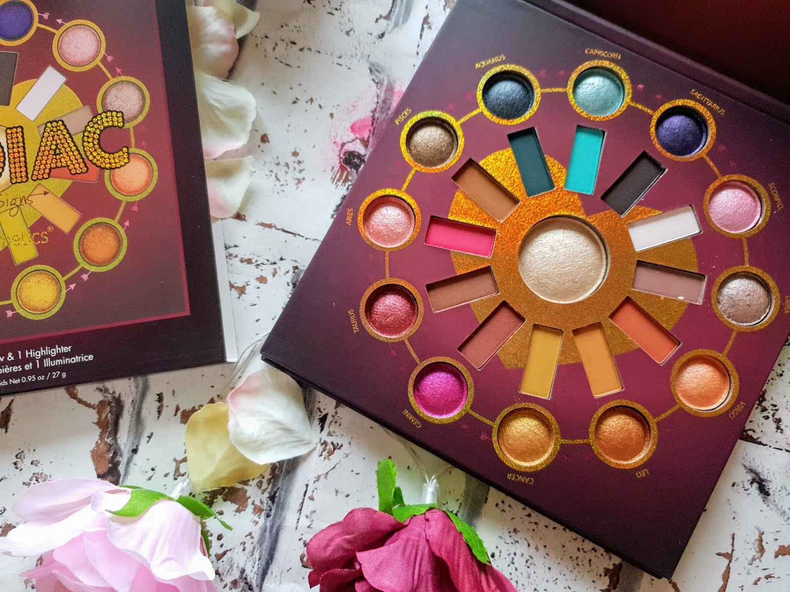 BH Cosmetics Zodiac Love Signs Palette | Review