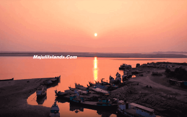 Majuli Island Sunset View