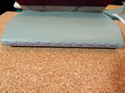 Leather Plum Coloured Shoe Renovator
