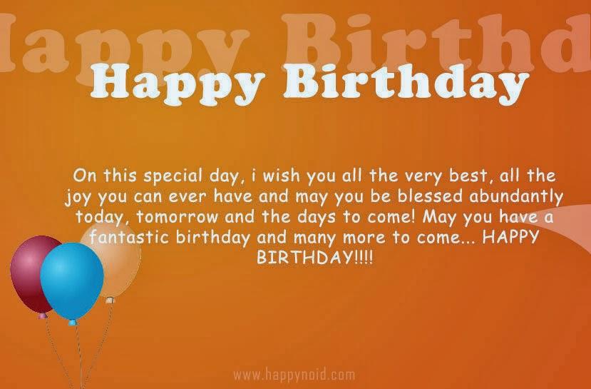 Simple Birthday Wish Ecosia