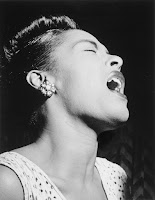 Image of Billie Holiday Singing