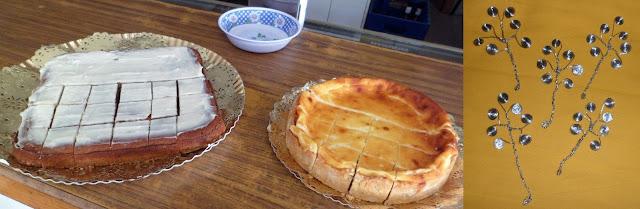 tartas y marcapáginas artesanales para la presentación del libro Incursores del ocaso