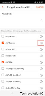 Pengaturan COD Shopee via Aplikasi Android 3