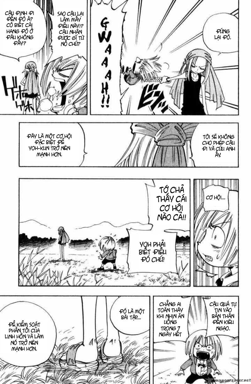 Shaman King [Vua pháp thuật] chap 51 trang 6