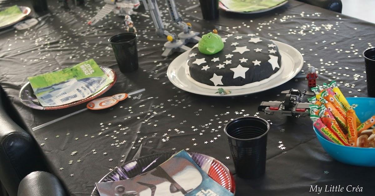 my little cr a d coration de table star wars et fabrication de sabres laser. Black Bedroom Furniture Sets. Home Design Ideas