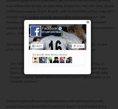 Membuat Popup Like FB di Blogspot