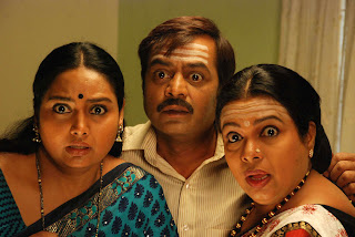 Shruti and Umashri in comedy role one kannada awaited movie kalpana
