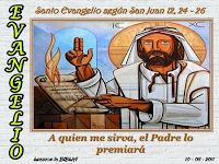 Resultado de imagen para En aquel tiempo, dijo Jesús a sus discípulos: «Os aseguro que si el grano de trigo