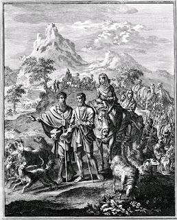 פרידת אברהם ולוט