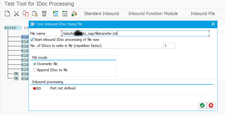 Function module to download file from application server in sap
