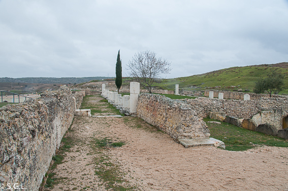 Termas monumentales de Segobriga. Ciudad romana de Cuenca