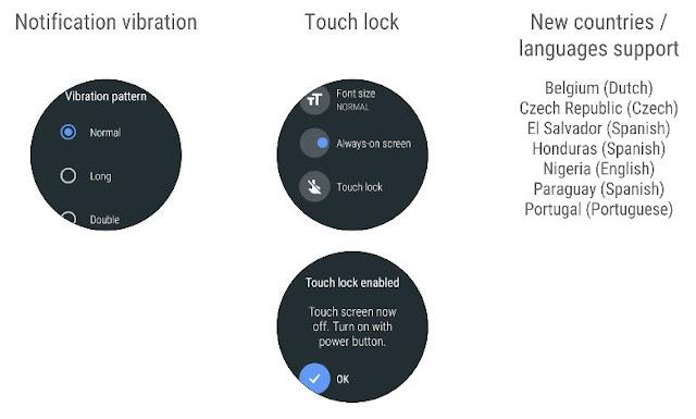 Oreo updtae on Android Wear