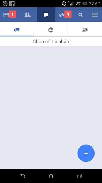Unlock tính năng lỗi facebook. Lỗi ko xuất hiện tin nhắn